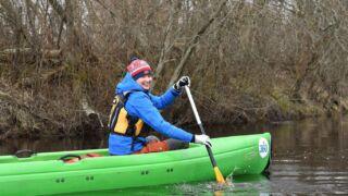 Matkajuht Gertrud 360kraadi kanuu keila jõgi
