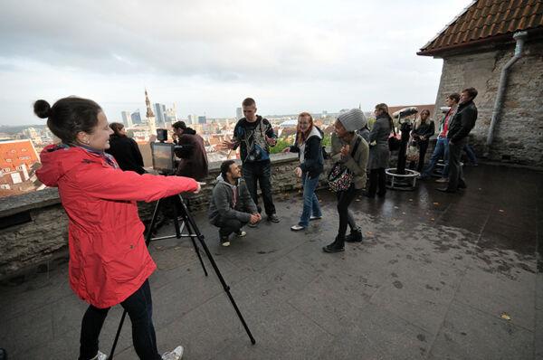 Filmifestival Tallinna vanalinnas