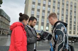 Loquiz iPadil Tallinna vanalinans